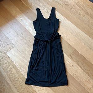 Gap black tank dress